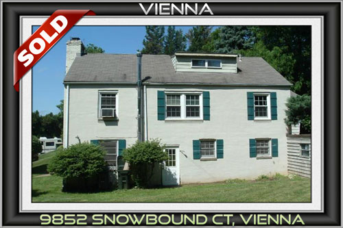 9852 SNOWBOUND CT, VIENNA, VA 22181