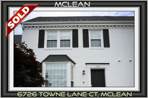 6726 Towne Lane CT, Mc Lean VA 22101