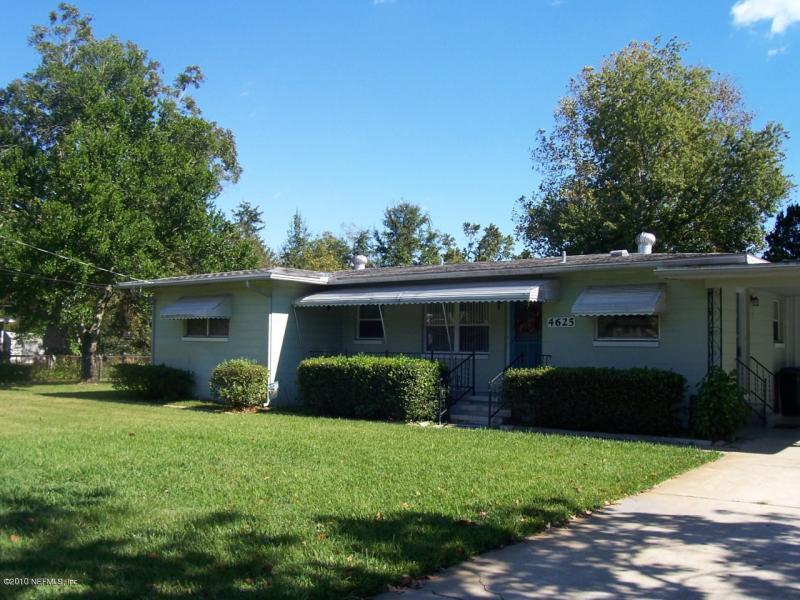 4625 East SOLANDRA CIR , JACKSONVILLE , FLORIDA ; 32210-7017