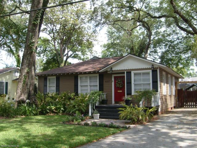4227    Colonial AVE , JACKSONVILLE , FLORIDA ; 32210
