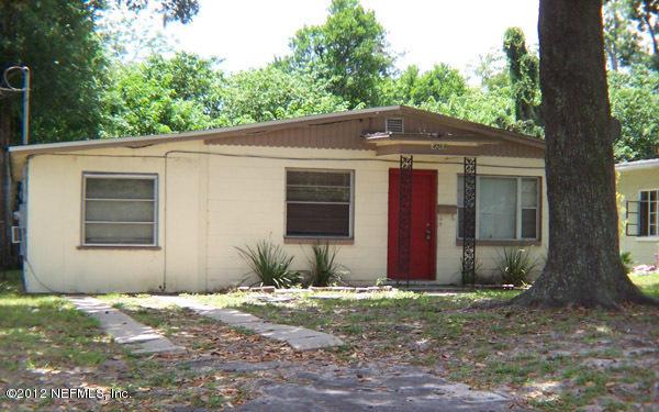 4560    Merrimac AVE , JACKSONVILLE , FLORIDA ; 32210
