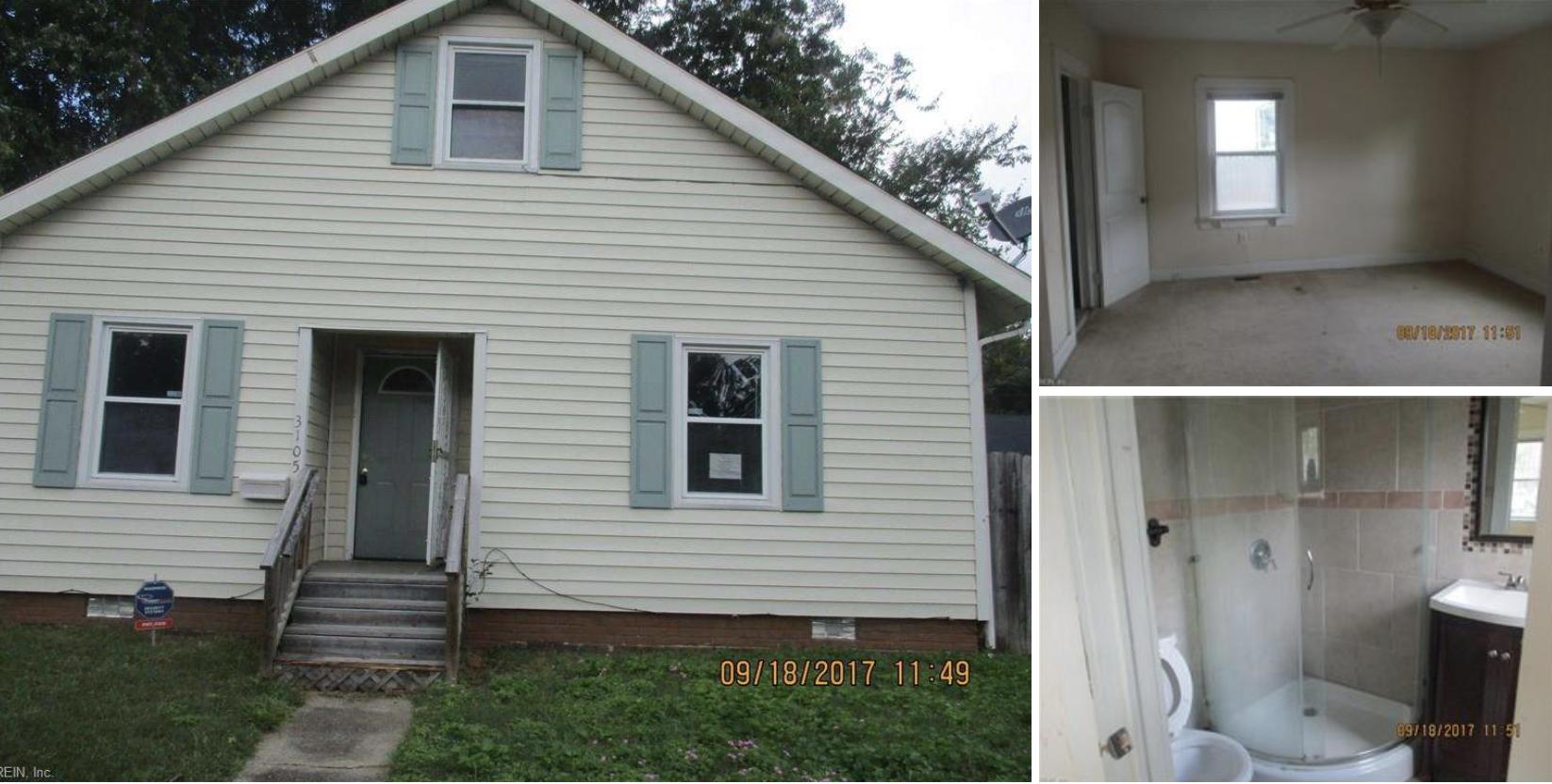 3105 Hurley Ave, Norfolk VA. 23513
