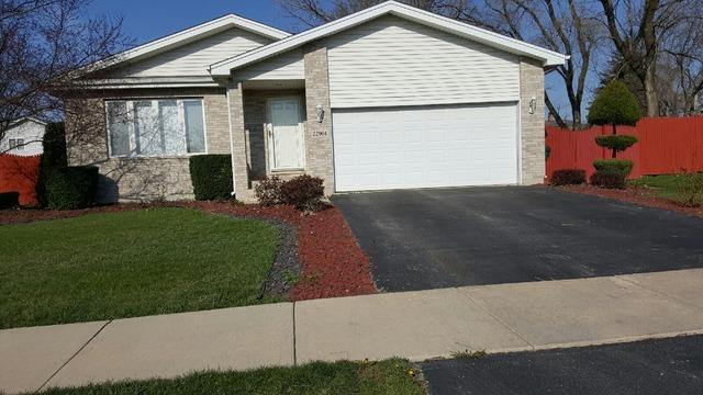 22904 Ridgeway Ave. Richton Park, IL