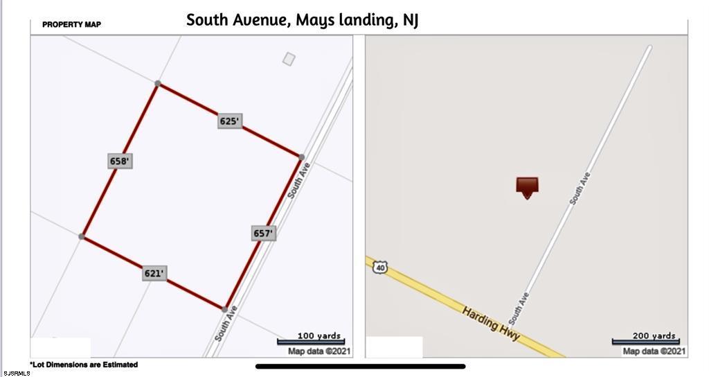 South Ave LAND Mays Landing, NJ 08330