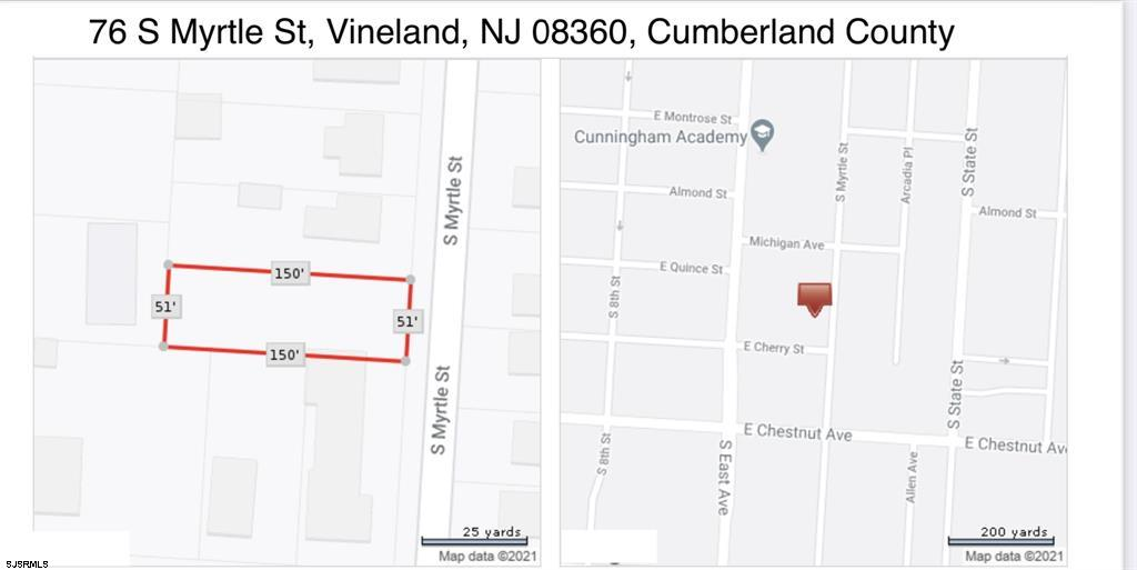 76 S Myrtle St. Vineland, NJ 08360
