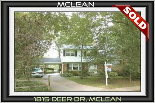 1815 DEER DR, MCLEAN, VA 22101