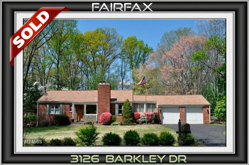 3126 BARKLEY DR, FAIRFAX, VA 22031