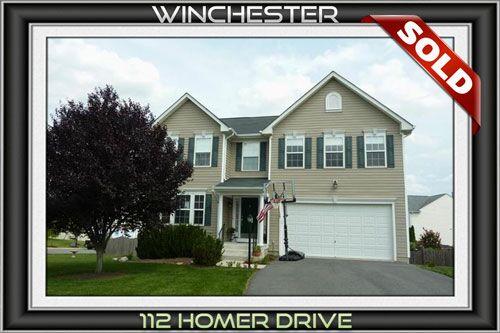 112 HOMER DR, WINCHESTER, VA 22602