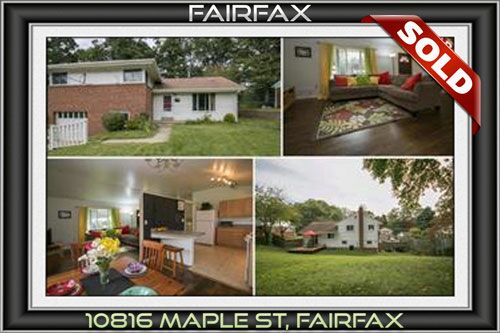 10816 MAPLE ST, FAIRFAX, VA 22030